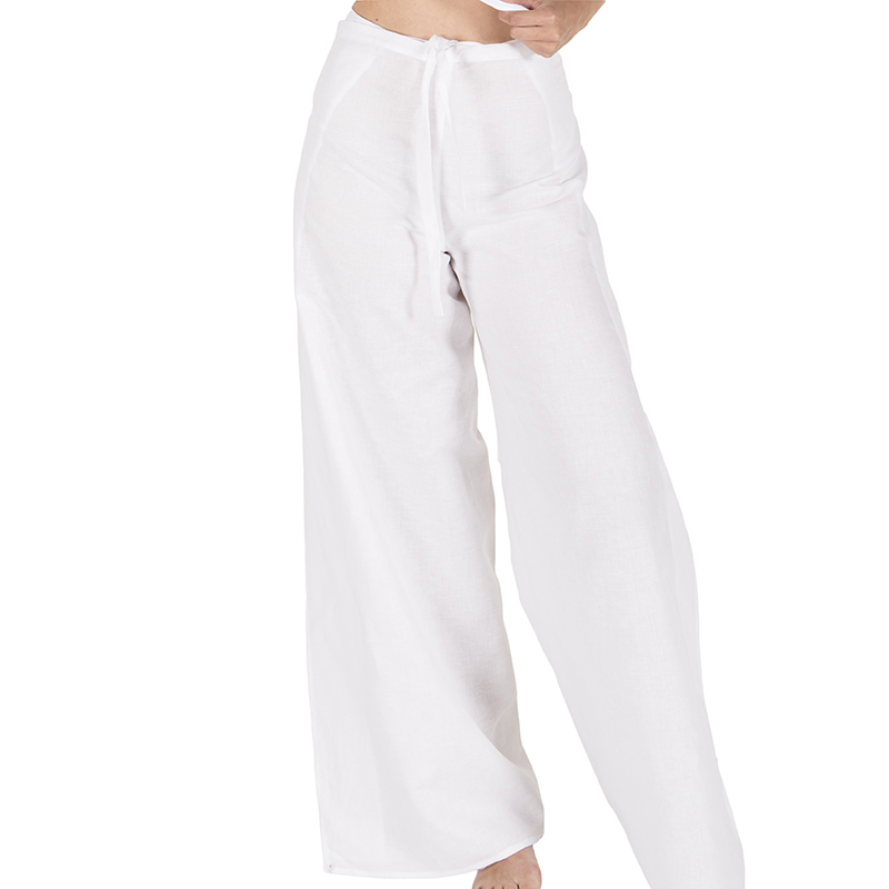 2046 pantalon pareo lino