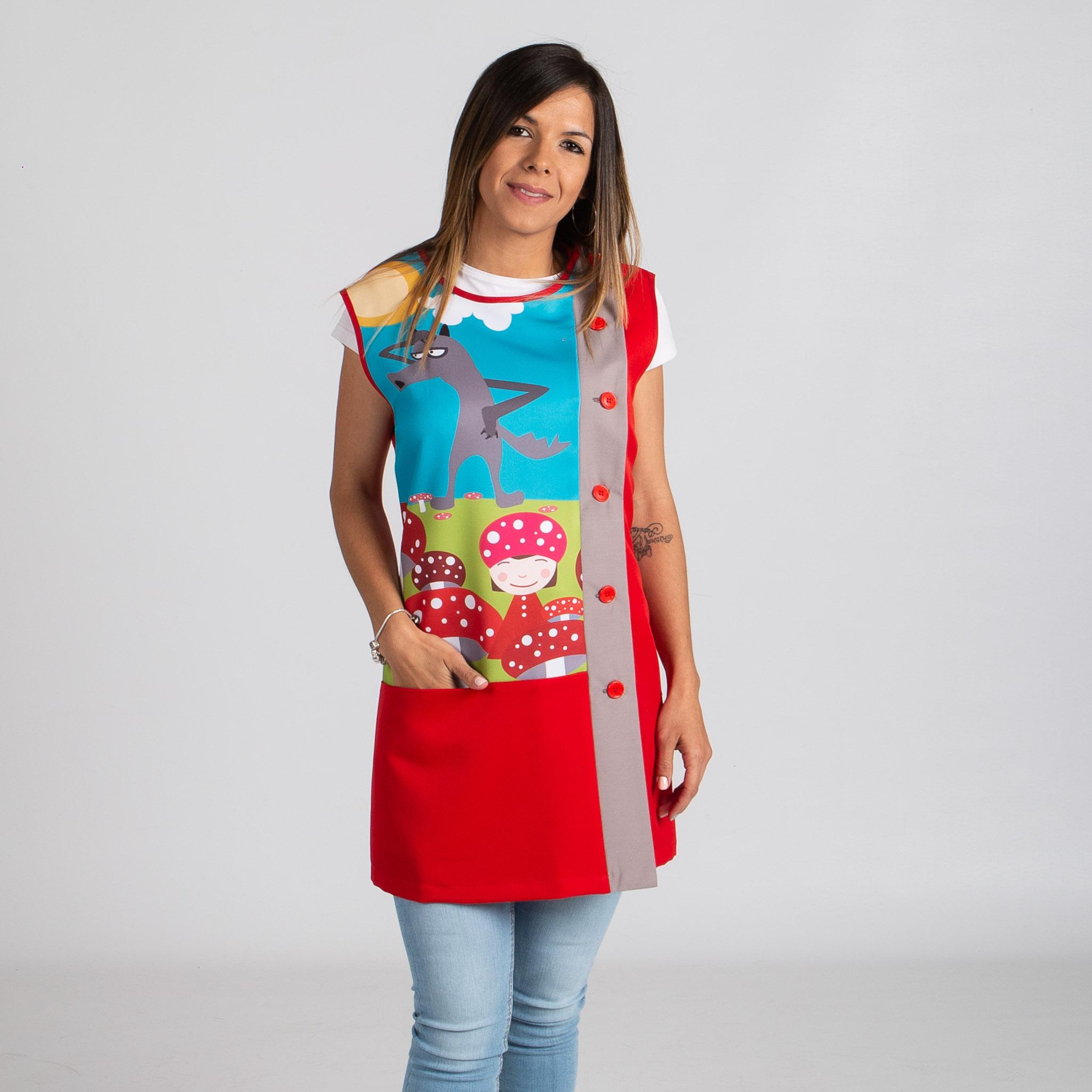 Blusa mujer caperucita 596800