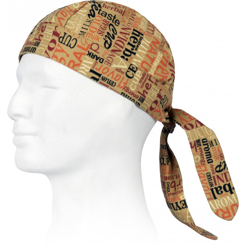 Bandana m623 de cocina estampada antimanchas workteam