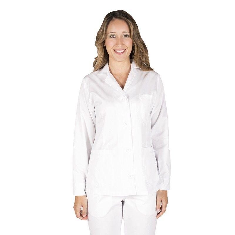 Blusa sanitaria de mujer manga larga garys
