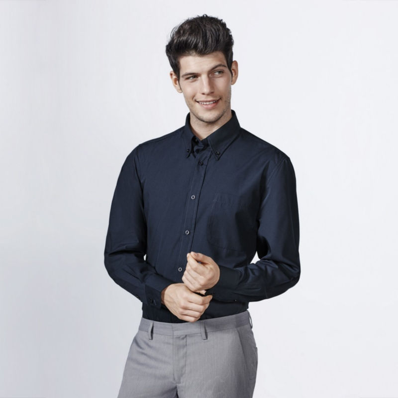 Camisa manga larga hombre aifos 5504 roly