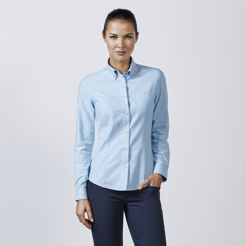 Camisa oxford woman ls 5507 roly