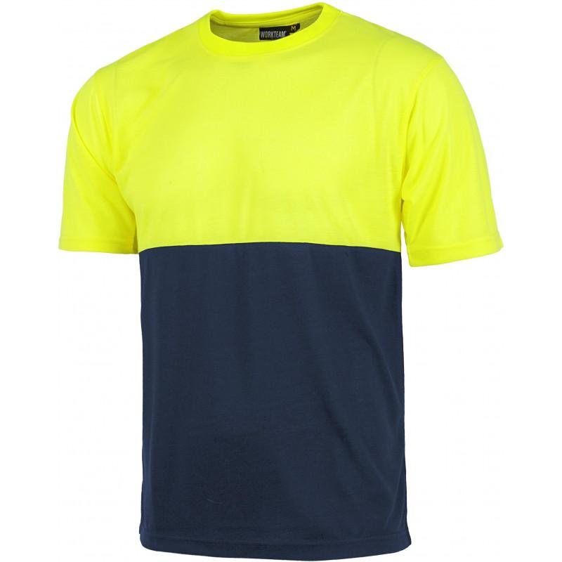 Camiseta de manga corta cuello redondo