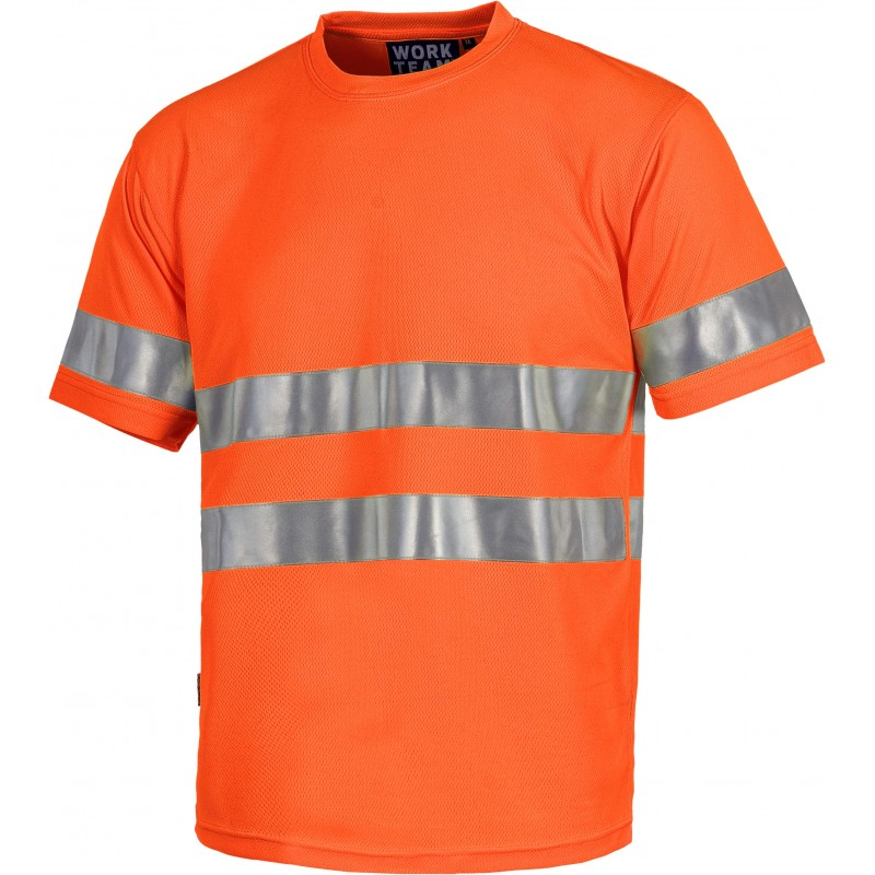 Camiseta de manga corta sin bolsillos