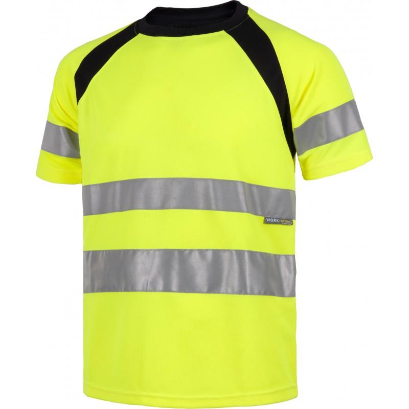 Camiseta manga corta combinada con alta visibilidad_(1)