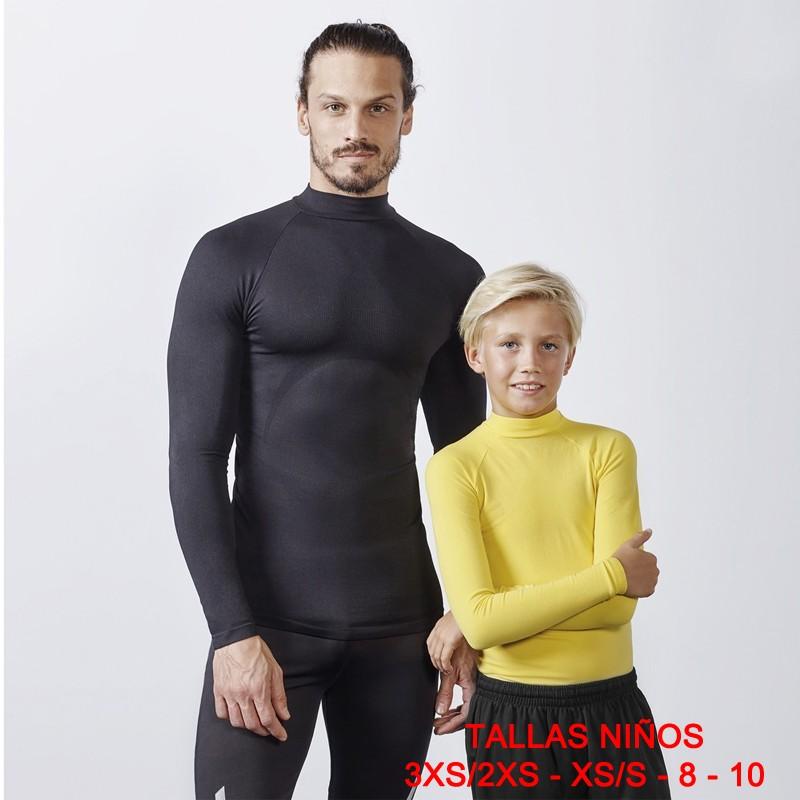 Camiseta termica adulto best sin logo 0361 roly