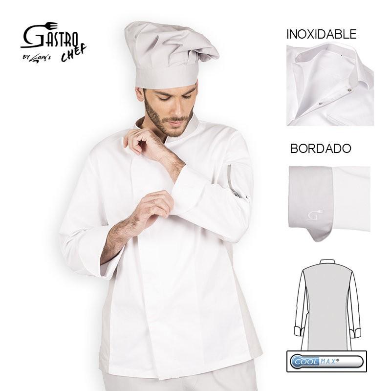 Casaca chef 9337 cratos para hombre cool max garys