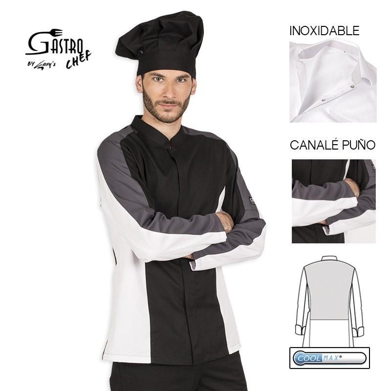 Casaca chef 9339 morfeo para hombre cool max garys