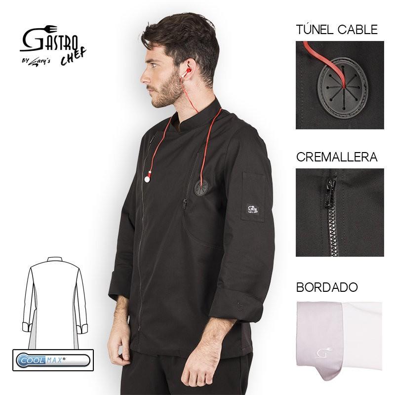 Casaca chef 9341 fobos para hombre cool max garys
