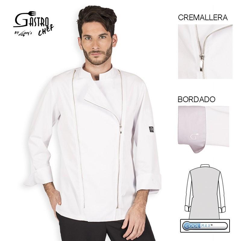 Casaca chef 9343 eolo para hombre cool max garys