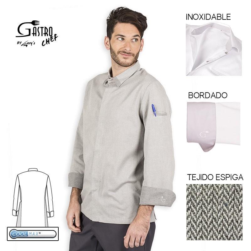 Casaca chef 9348 leto para casaca chef 9352 ganimedes para hombre cool max garys cool max garys