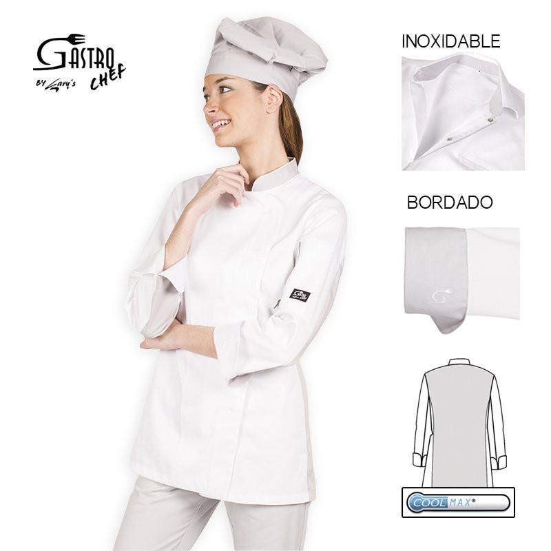 Casaca chef 9356 iris para mujer cool max garys