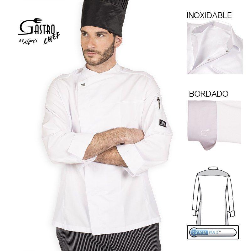 Chaqueta de cocina gastro chef circe gary s 9345