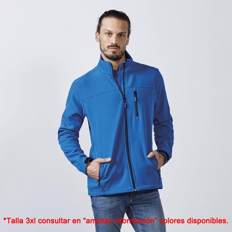 Chaqueta softshell hombre antartida 6432 roly