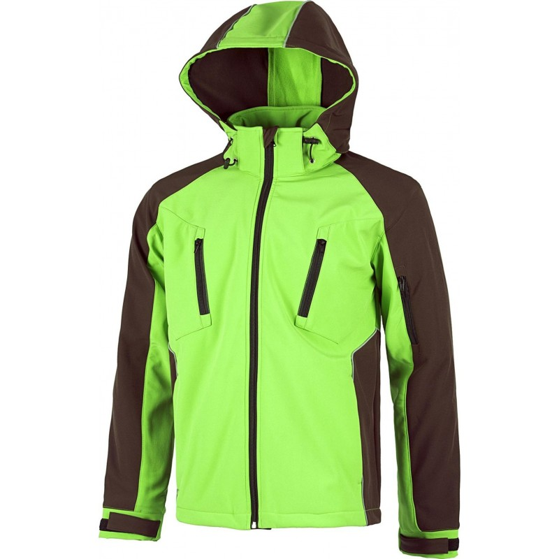 Chaqueta wf1040 con tejido work shell future workteam
