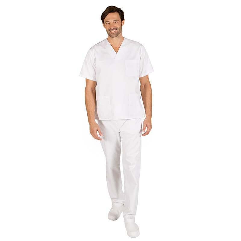 Conjunto blanco pantalon goma