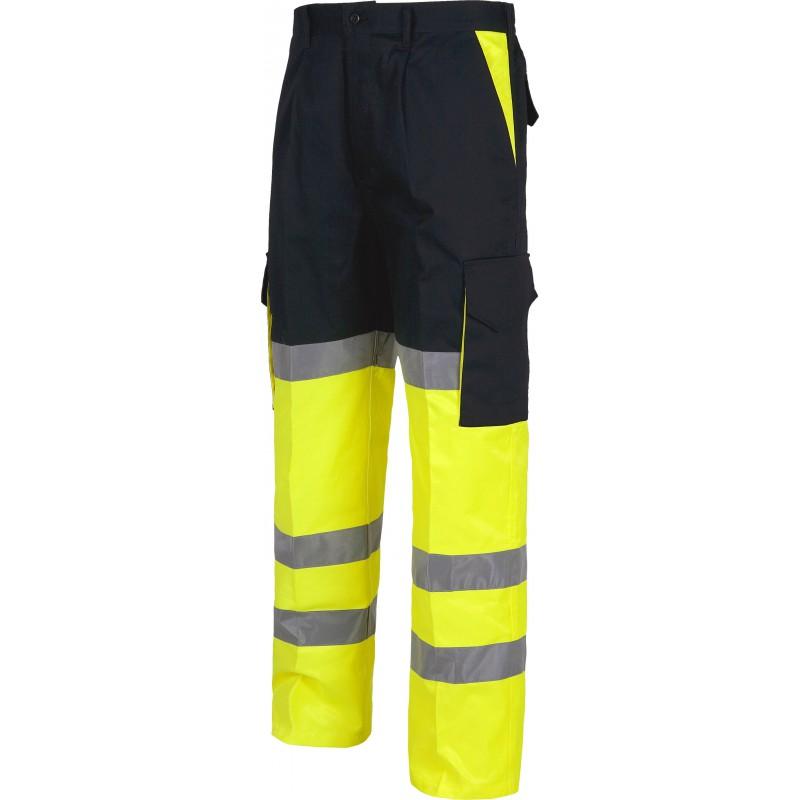 Pantalon c3214 recto multibolsillos
