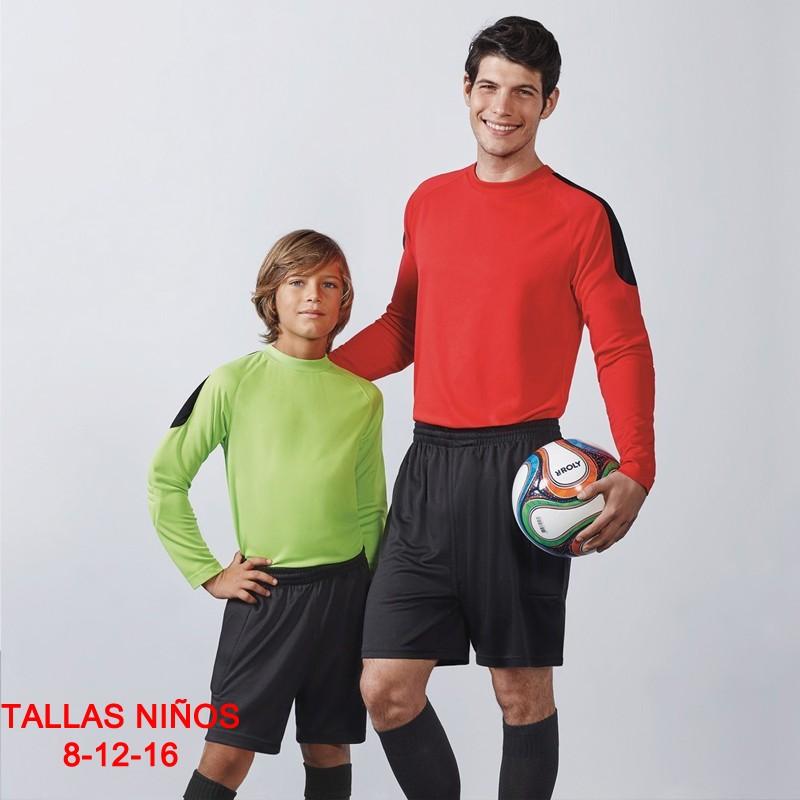 Pantalon corto portero audulto y kids 0486 roly