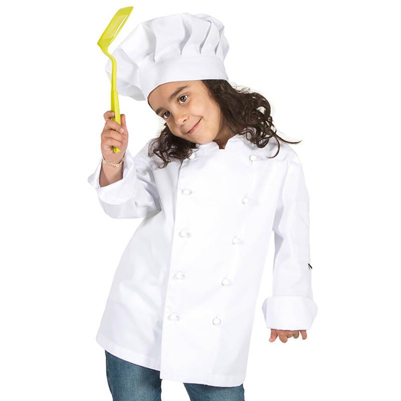 9501 chaqueta cocina blanca