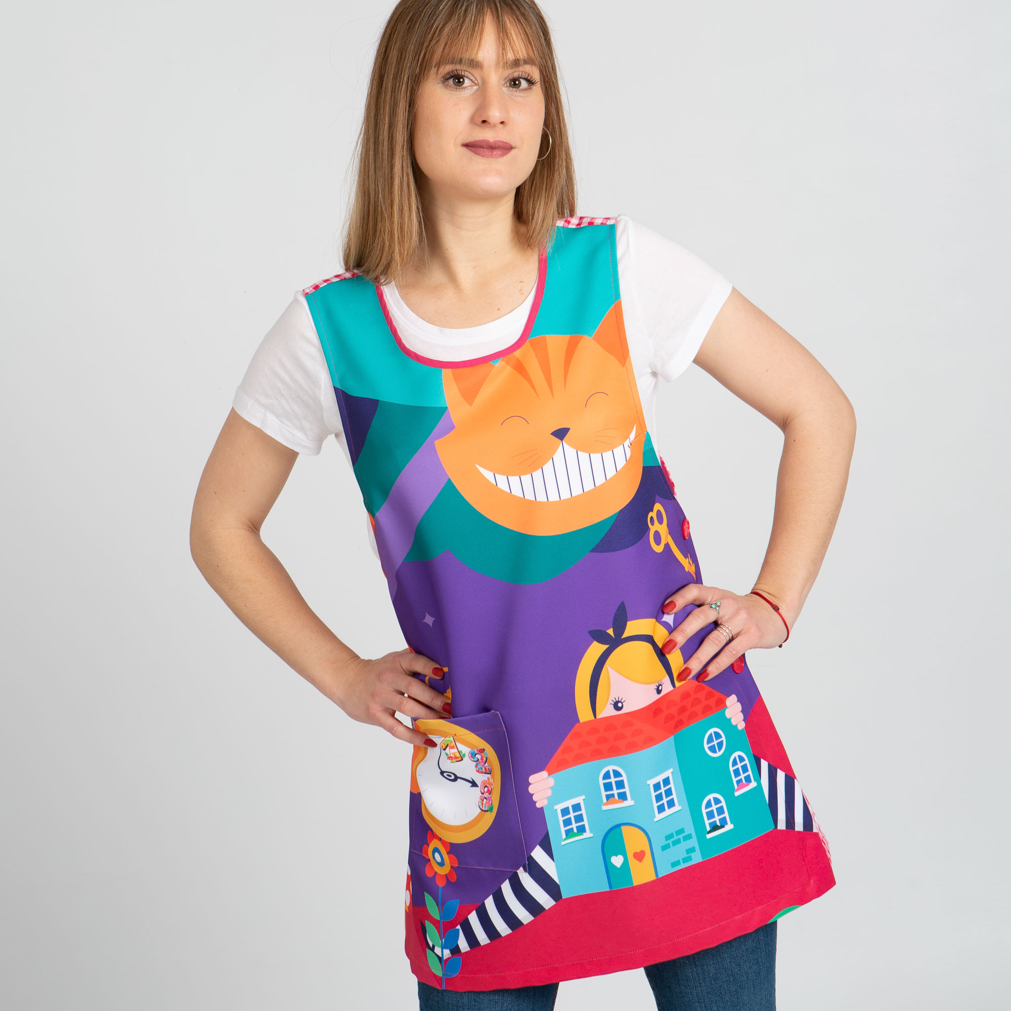 Blusa mujer estampada 643900