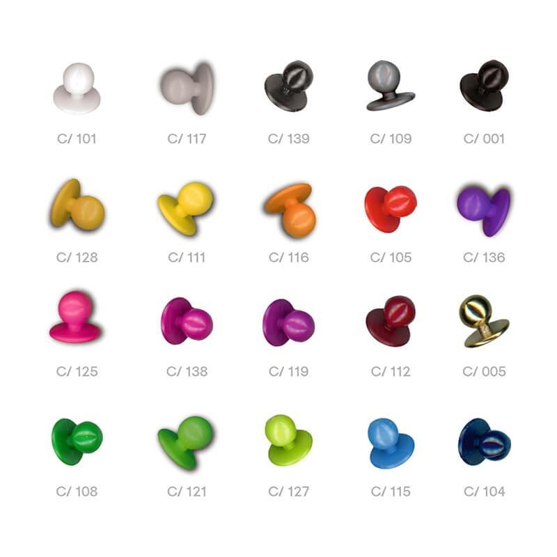 Botones colores