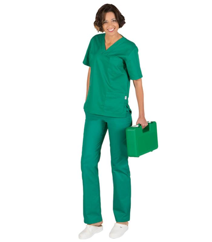 Blusa sanitario unisex pico colores_(1)