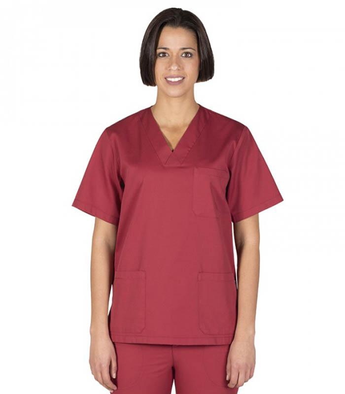 Blusa sanitario unisex pico colores_(4)