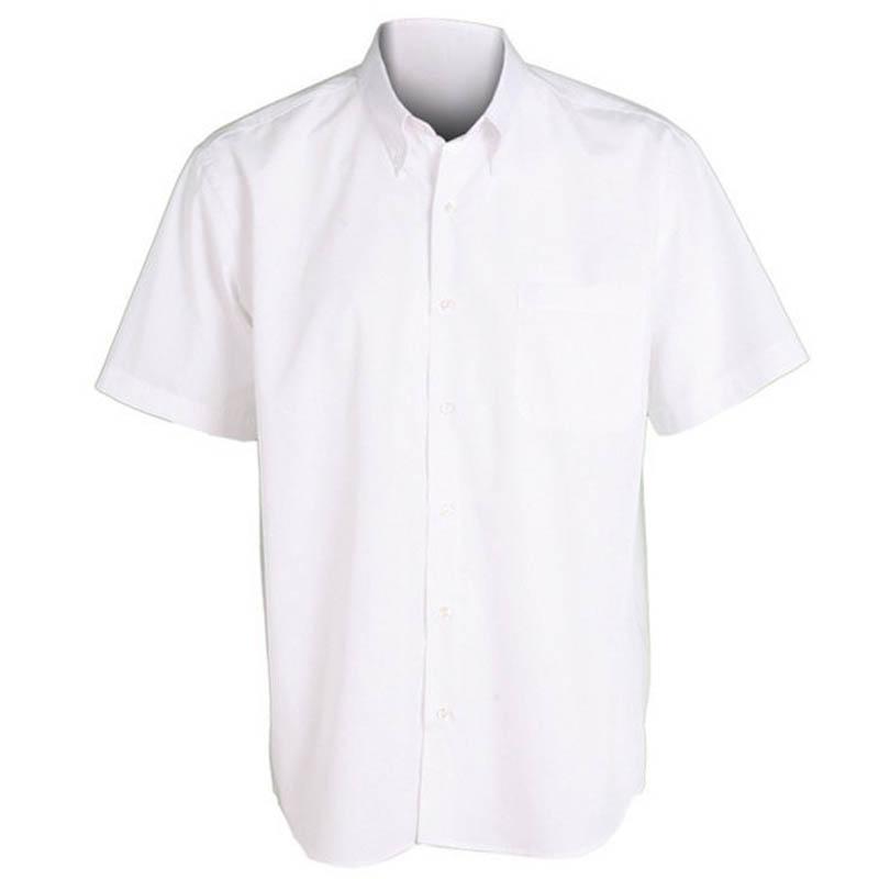 Camisa 2651 blanca manga corta de caballero garys