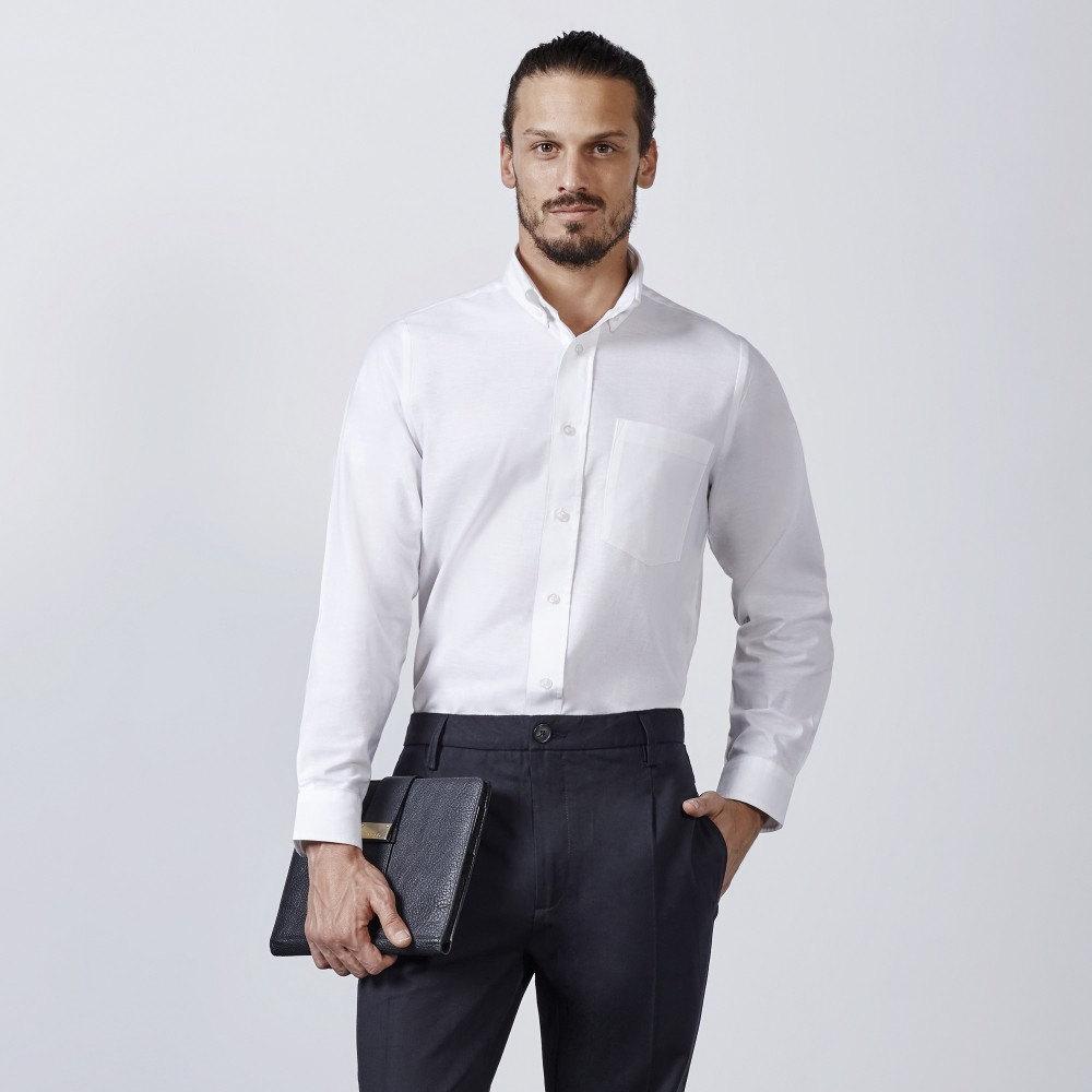 Camisa hombre oxford ls 5507 roly