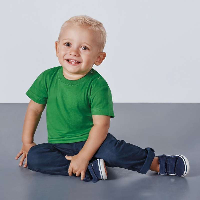 Camiseta manga corta para bebe baby 6564 roly