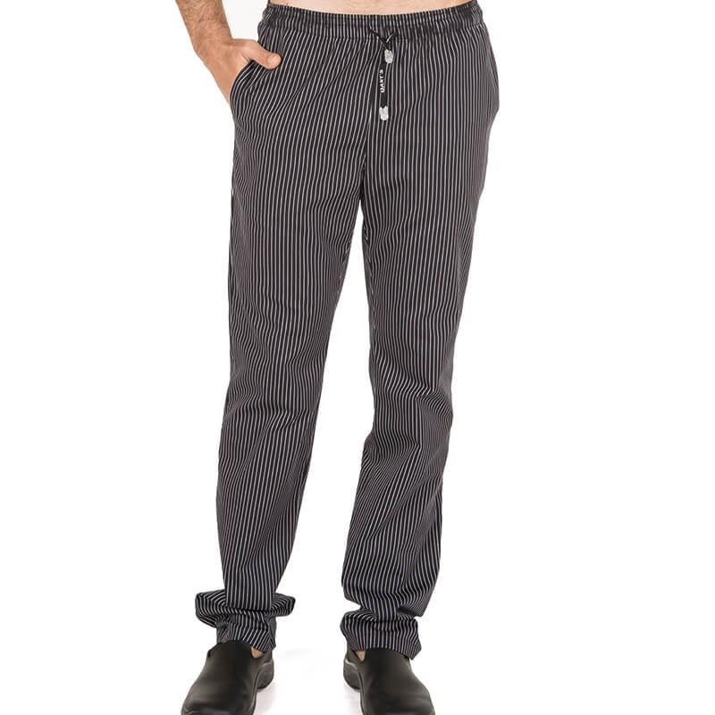 Pantalon algodon rayas