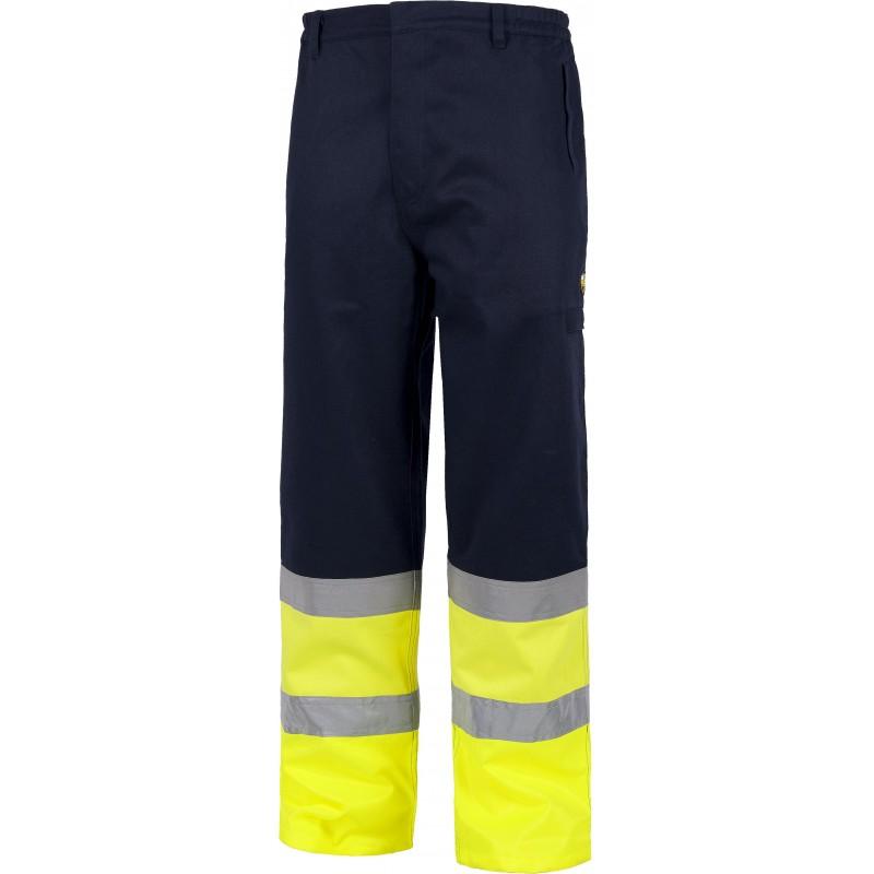 Pantalon combinado con alta visibilidad