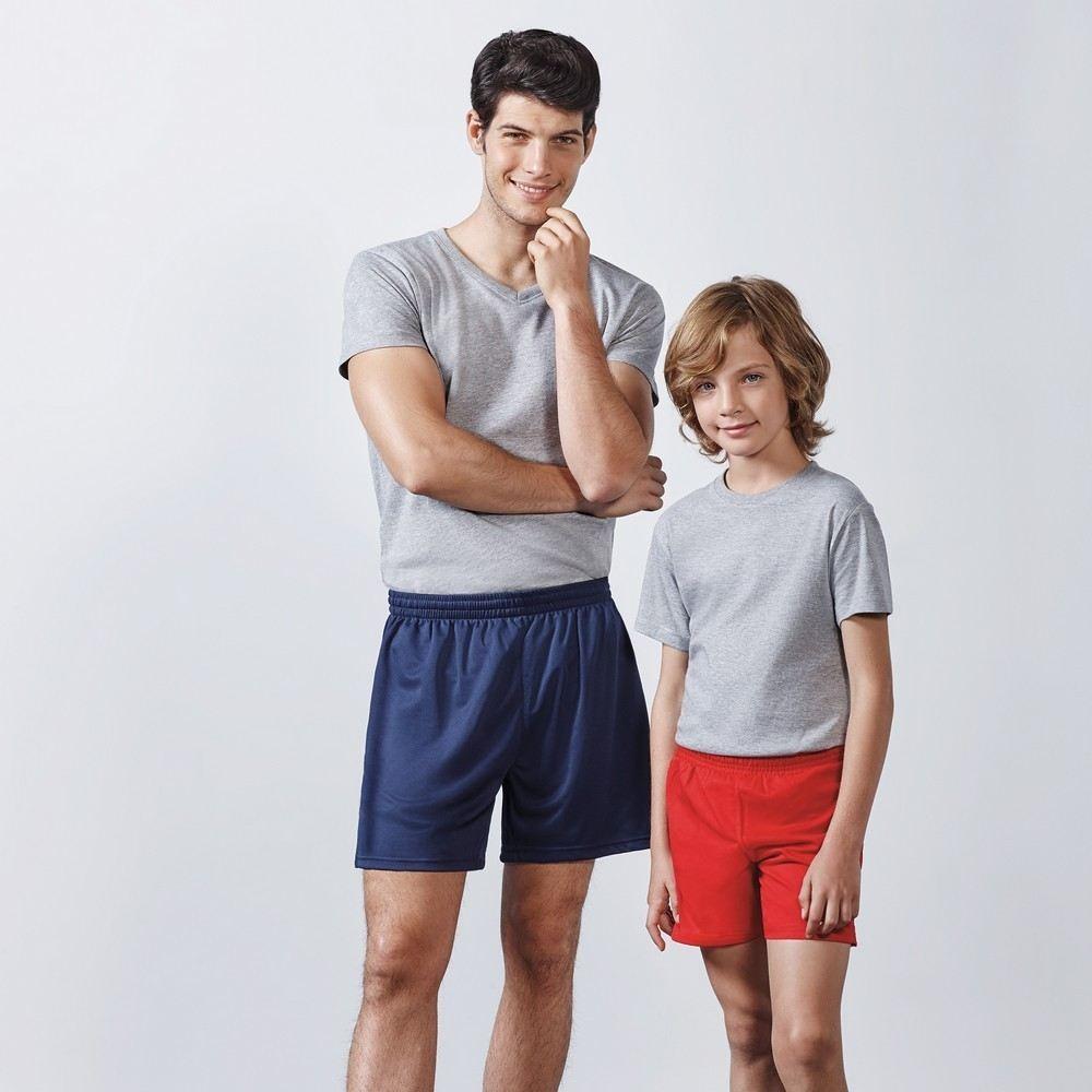 Pantalon deportivo corto adulto calcio 0484 roly1