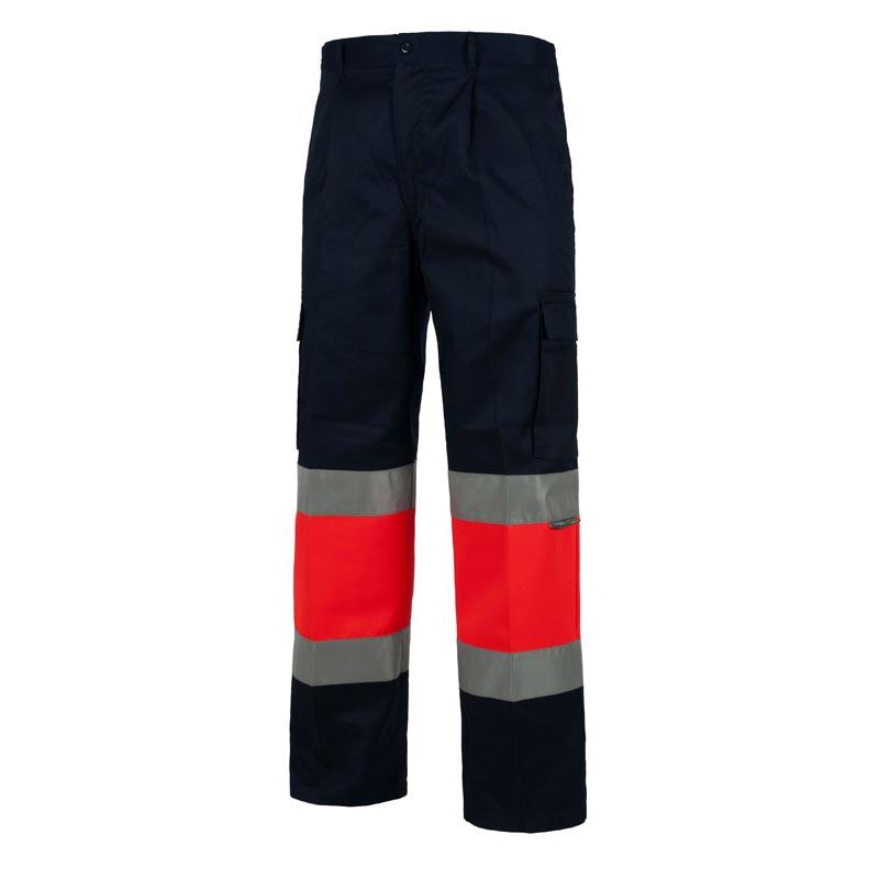 Pantalon recto multibolsillos